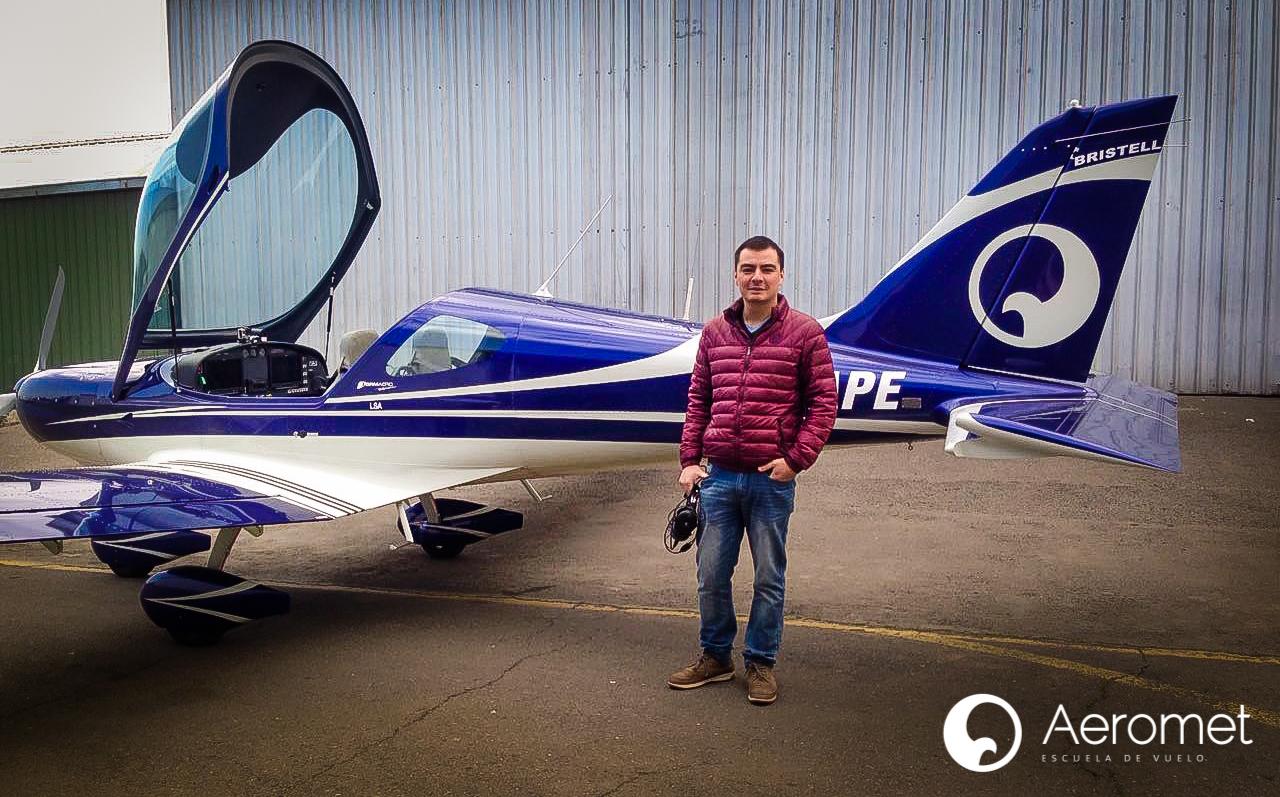 Llega a Aeromet el Primer Alumno con el Convenio del Sindicato de Pilotos Lan